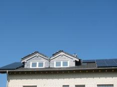 Fotovoltaikanlage, Haus mit Fotovoltaik, De Ge Al Sinzig
